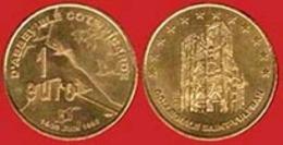 ** MEDAILLE  1  EURO  D' ABBEVILLE  1998 ** - Euros Des Villes
