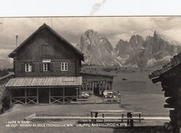 ALPE DI SIUSI-BOLZANO-RIFUGIO AL SOLE-CARTOLINA VERA FOTOGRAFIA- VIAGGIATA 30-7-1956 - Bolzano (Bozen)