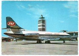 JAT  YUGOSLAV AIRLINES - CARAVELLE / AVIATION / AVION / AIRPLANE / AIRPORT - 1946-....: Era Moderna