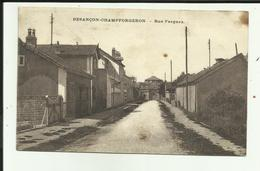 25 - Doubs - Besançon - Champforgeron - Rue Parguez - - Francia