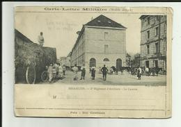 25 - Doubs - Besançon - Carte 2 Volets - Caserne 5e.Régt.d'Artillerie- Pont Et église - 2 Scanns - - Besancon