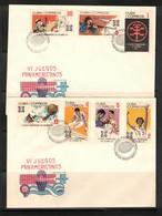 Cuba 1971 Pan American Games FDC - Boksen