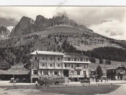 PASSO CAREZZA E COSTALUNGA-TRENTO-ALBERGO=SAVOY=CORRIERA-AUTOBUS--CARTOLINA VERA FOTOGRAFIA NON VIAGGIATA ANNO 1950-1958 - Bolzano (Bozen)