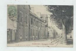 Marennes (17) : La Gendarmerie Environ 1907 (animé) PF. - Marennes