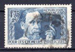 1938 FRANCE 1.75FR.+25C. LOUIS PASTEUR MICHEL: 421 USED - Gebraucht