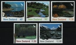 Neuseeland 2003 - Mi-Nr. 2109-2113 ** - MNH - Natur - Landschaften - Nuovi