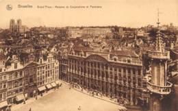 BRUXELLES - Grand'Place : Maisons De Corporations Et Panorama - Squares