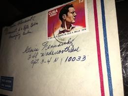 See Photos.  1979 CARIBBEAN, 50TH ANNIVERSARY OF THE DEATH OF JULIO ANTONIO MELLA - Cuba