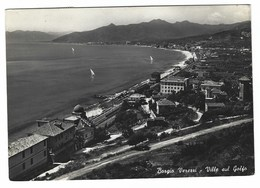 3307 - BORGIO VEREZZI VILLE SUL GOLFO SAVONA 1950 CIRCA - Altre Città