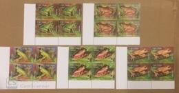 Blocks 4 Of Vietnam Viet Nam MNH Perf Stamps 2014 : Frog / Rhacophorus Owstoni / Chang Hiu (Ech Cay) (Ms1045) - Vietnam