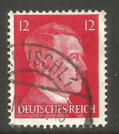 GERMANY / AUSTRIA. 12pf USED BAD ISCHL POSTMARK - Other
