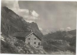 V4055 Courmayeur (Aosta) - Rifugio Elisabetta - Lex Blanche - Panorama / Viaggiata 1957 - Italia