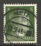 GERMANY / FRANCE. 5pf USED METZ POSTMARK - Other