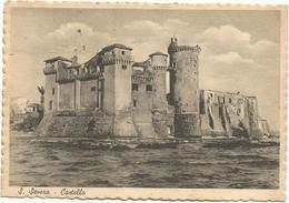 V4065 Santa Marinella (Roma) - Castello Di Santa Severa - Castle Chateau Schloss Castillo / Viaggiata 1948 - Other Cities