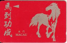 MACAU(GPT) - 1990 Year Of The Horse, CN : 3MACA, Tirage 10000, Used - Macao