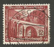 GERMANY. 12pf ALPENSTRASSE USED BECKUM POSTMARK - Other
