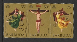 "BARBUDA 1971 Easter/Raphael's ""Mond"" Crucifixion: Set Of 3 Stamps UM/MNH - Antigua & Barbuda (...-1981)"