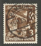 GERMANY. 3pf SA USED HAMBURG POSTMARK - Other