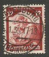 GERMANY / POLAND. 12pf SAAR USED LAUENBURG POMMERANIA POSTMARK - Other