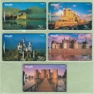 New Zealand - 1996 Classic Castles Set (5) - NZ-I-26/30 - Mint - Neuseeland