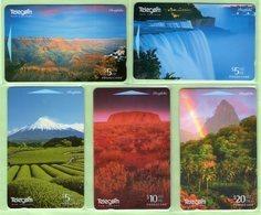 New Zealand - 1996 Natures Creations Set (5) - NZ-I-20/24 - Mint - Neuseeland