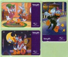 New Zealand - 1996 Donald Duck Part II Set (3) - NZ-D-73/5 - Mint - Neuseeland