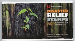2020 Australia Disaster Relief Set 5 X $1.10 Free Form Self-adhesive Stamps MNH - Neufs