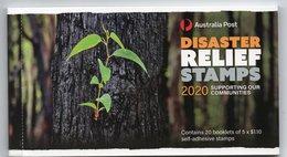 2020 Australia Disaster Relief Set 5 X $1.10 Free Form Self-adhesive Stamps MNH - 2010-... Elizabeth II