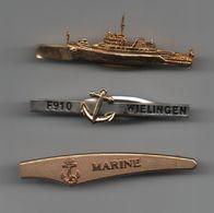 Pinces à Cravatte Marine F910 WIELINGEN, Bateaux, Navires....BT15 - Boutons