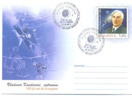 "2011. Moldova, Prep. Env. ""Vladimir Kondurari, Space, Astronomer"",  FDC, Mint/** - Moldavie"