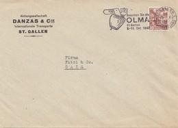 Schweiz: 1947: St. Gallen Nach Gais , Perfin - Unclassified