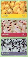 New Zealand - 1998 Phonecard Plus - Birds - Set (3) - NZ-P-128/130 - Mint - Neuseeland