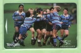 New Zealand - 1996 Junior Rugby $5 - Mint - NZ-P-81 - Neuseeland
