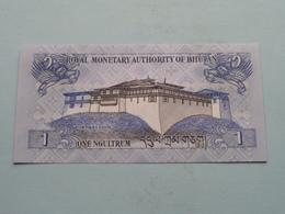 1 One NGULTRUM - Royal Monetary Authority Of BHUTAN Series 2013 ( For Grade, Please See Photo ) ! - Bhoutan