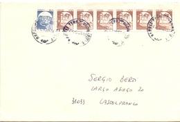 LEVANTE 89  ESP. NAZIONALE BARI FILATELIA  COVER  (FEB20734) - Esposizioni Filateliche
