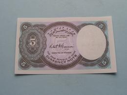 5 Piastres - EGYPT ( For Grade, Please See Photo ) ! - Egypte