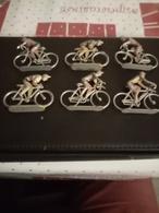 Lot De 6 Cyclistes En Alu - Non Classés
