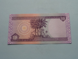 FIFTY Dinars > Central Bank Of IRAQ ( For Grade, Please See Photo ) UNC ! - Iraq