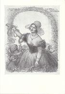 Dessin - Illustration De C. Charles Léandre 1931 - A Sa Chère Normandie - Sur Papier Canson 17 X 24,5 Cm - Dessins