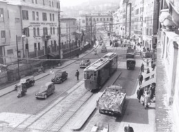 FOTOGRAFIA - GENOVA - TRAM - FOTO ARCHIVIO PUBLIFOTO - Genova (Genoa)