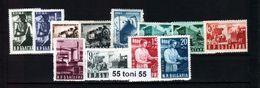 1950 NATIONAL ECONOMY Mi 723/30 + 770/73    12v.-MNH  Bulgaria/Bulgarie - Nuevos
