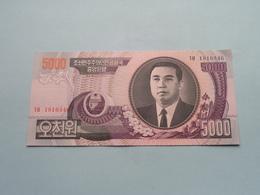 5000 WON (2006) > ( For Grade, Please See Photo ) UNC ! - Corea Del Norte