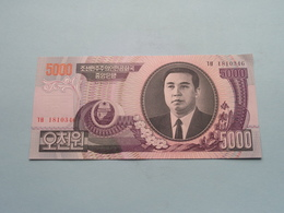 5000 WON (2006) > ( For Grade, Please See Photo ) UNC ! - Korea, Noord