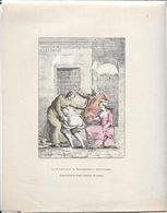 La Flagellation De Beaumarchais à Saint-Lazare - Reproduction D'une Estampe De Temps - Qu'est-sa-co (quésaco) - Prints