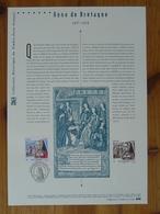 Document Officiel FDC 14-500 Reine Queen Anne De Bretagne Moyen Age Medieval 44 Nantes 2014 - Berühmt Frauen
