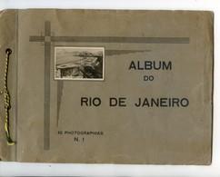 Carnet De 10 Photos .Album Do Rio De Janeiro - Format 17/24 Cm - Plaatsen