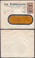"Belgique - Lettre Entête ""La Forvillitte"" En Recom. De Loth 30/XI/1922 (BE)DC6622 - 1915-1920 Albert I"