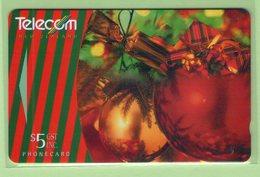 NZ - 1995 Christmas - $5 Decoration Montage - NZ-P-67 - Mint - Neuseeland