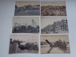Lot De 20 Cartes Postales De Belgique  Guerre 1914 - 1918 Ruines      Lot Van 20 Postkaarten  België Oorlog Ruinen - 5 - 99 Postkaarten