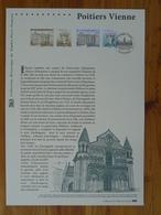 Document Officiel FDC 14-518 Cathédrale De Poitiers Reine Alienor D'Aquitaine Moyen Age Medieval 86 Vienne 2014 - Kirchen U. Kathedralen